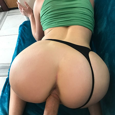 Redhead Fucks On Couch